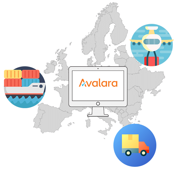 Avalara addon tax compliance infographic