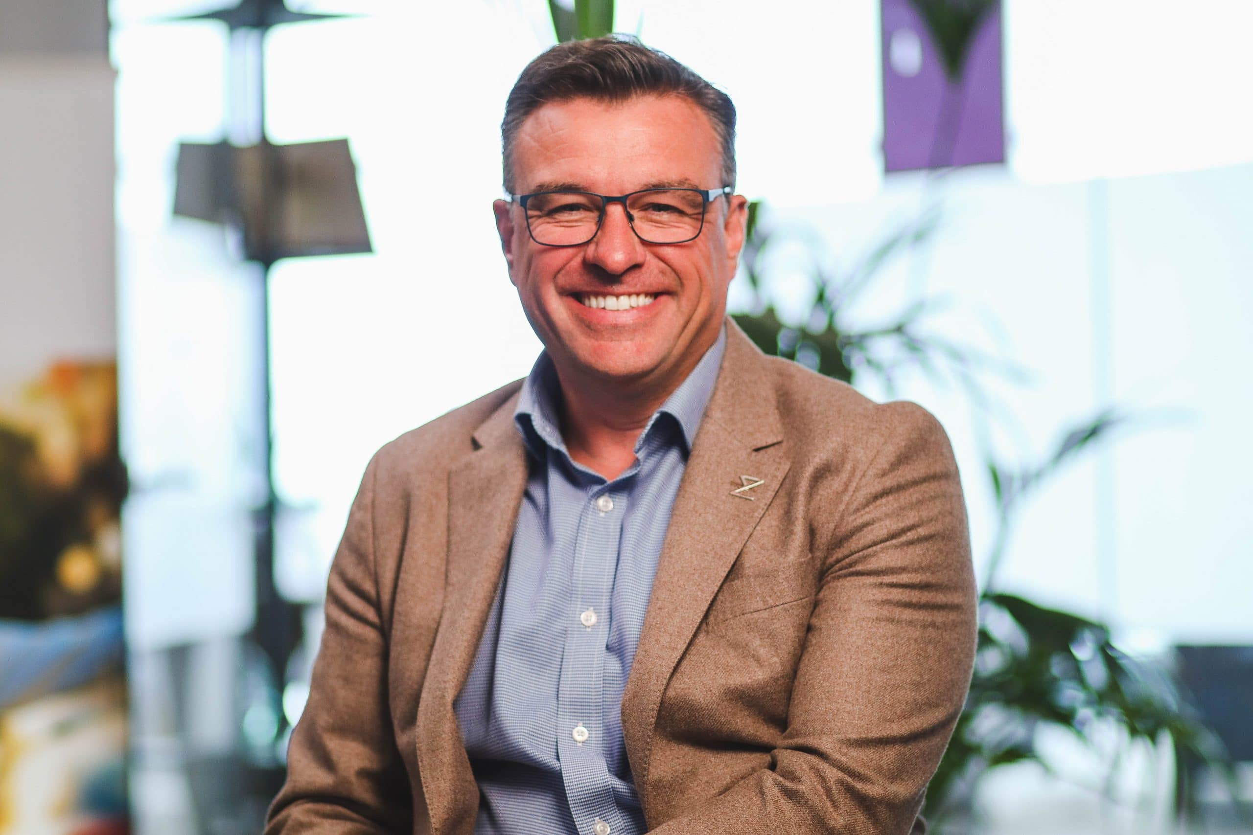 Portrait of Morgan Browne, CEO