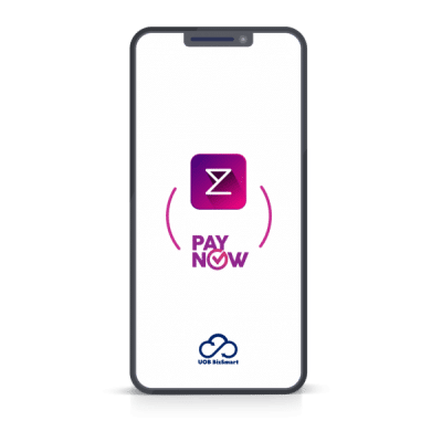 Enterpryze and PayNow logo on phone