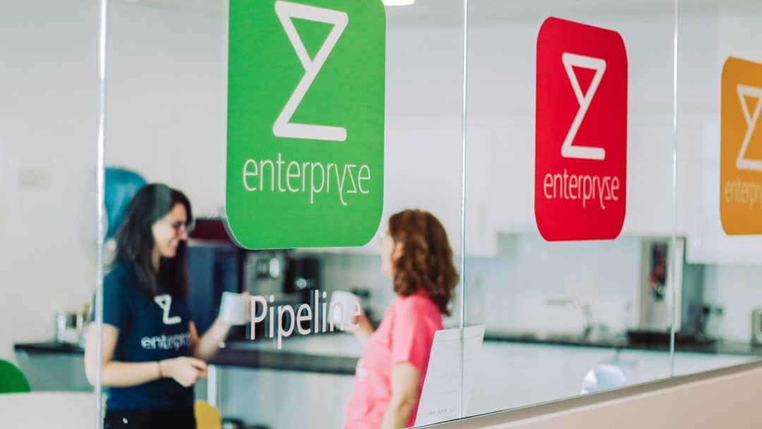 Enterpryze Logos In Office